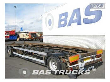 GS Meppel AC 2000 - container transporter/ swap body trailer