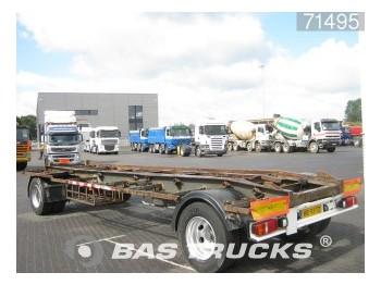 GS Meppel AC-2000 LU - container transporter/ swap body trailer