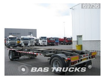 GS Meppel AC-2000-SL - container transporter/ swap body trailer