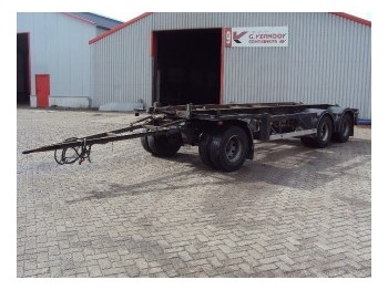 GS Meppel AC 2800 N - container transporter/ swap body trailer