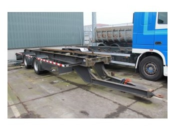GS Meppel AN 2000 C - container transporter/ swap body trailer