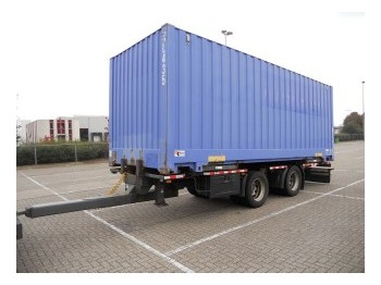 GS Meppel BDF met bak! incl. Container - container transporter/ swap body trailer