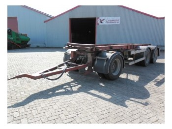 GS Meppel KIEPER AIC 2800 K - container transporter/ swap body trailer