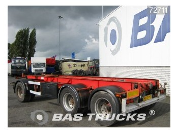 GS Meppel Kippanlage Steelsuspension AIC-2800-K - container transporter/ swap body trailer