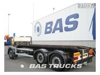 GS Meppel Liftachse AI-2700 LBM - container transporter/ swap body trailer