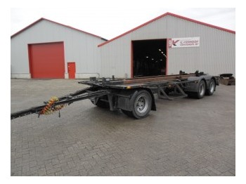 GS Meppel MEPPEL AC-2800 - container transporter/ swap body trailer