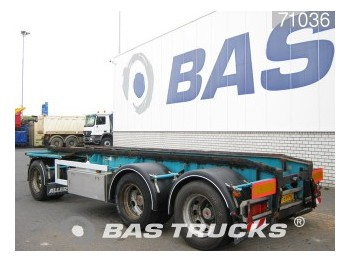 GS Meppel Steelsuspension AI-2800 - container transporter/ swap body trailer