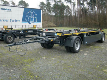 HKM A 18 ZL 5,0 Containerabroller  - container transporter/ swap body trailer