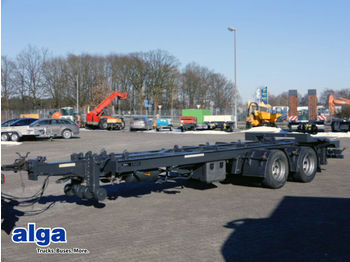 HKM G 18 TS ZL, Tandem, Schlitten, Abroller,Zwilling  - container transporter/ swap body trailer