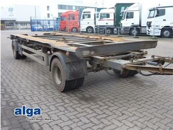 HKM KMT 18/1, Blattfederung, 18 to. Zwilling.  - container transporter/ swap body trailer