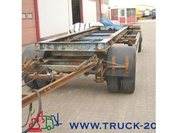 Hilse 2 Achs Schlitten Anh.Abrollcontainer BPW - container transporter/ swap body trailer