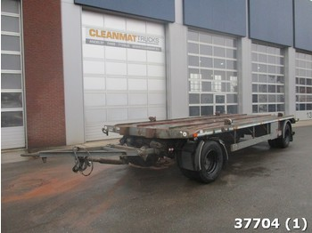 Hilse/Hildesheim 2-axle container trailer - container transporter/ swap body trailer