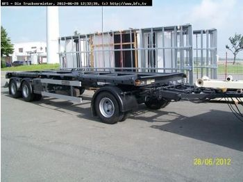 Kombi Abroll/Absetzer A 24 ZB 5,1 HKM  Absetzanh  - container transporter/ swap body trailer