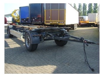 Krone AZW 18 - container transporter/ swap body trailer