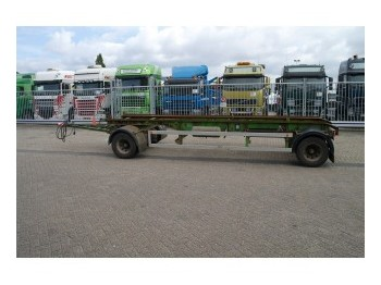 MOL 2 AXLE TRAILER FOR CONTAINER TRANSPORT - container transporter/ swap body trailer