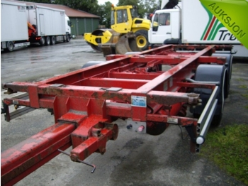 Nor slep Containerhenger - container transporter/ swap body trailer