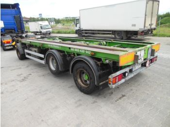 POLKON PK-183, LIFT ACHSE  - container transporter/ swap body trailer