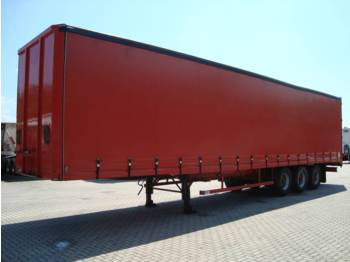 STAS O-38/3A 3-axle curtainsider - container transporter/ swap body trailer
