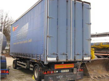 Sommer 2 Achs Jumbo BDF Anhänger ABS TopZustand - container transporter/ swap body trailer