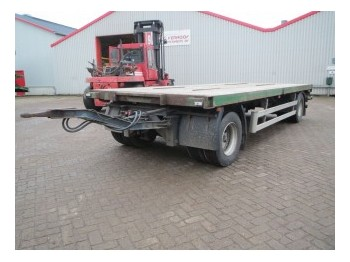 Tracon TA 1010 - container transporter/ swap body trailer