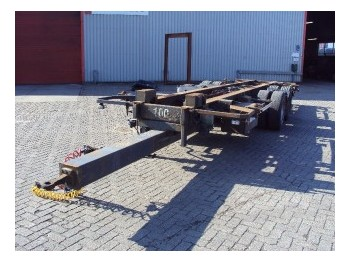 Tracon TM18 - container transporter/ swap body trailer