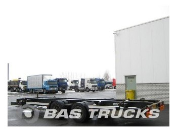 Tracon TM18 Mega - container transporter/ swap body trailer