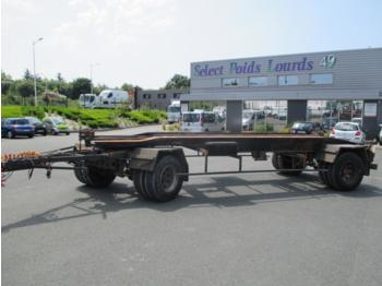 Trouillet  - container transporter/ swap body trailer