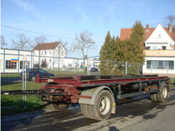 WM Meyer Eggers HWT18Z 2/1 Abrollcontainer Anhänger  - container transporter/ swap body trailer