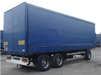 Ackermann PA-F 3-Achs Bordwand Edscha Ladegutsicherung 3x - curtainsider trailer