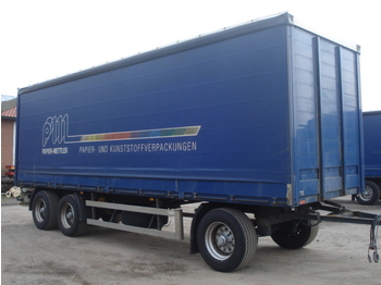 Ackermann PA-F 3- Achs Bordwand Edscha Portalturen - curtainsider trailer