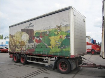 Burg 3 as schuifzeile+dak - curtainsider trailer