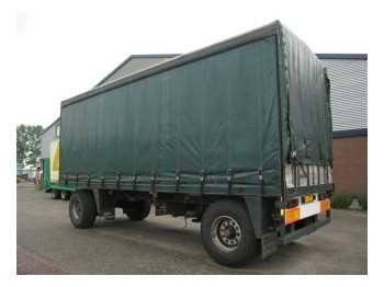 Burg BPDA 10-10 - curtainsider trailer