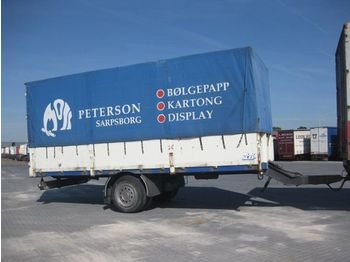 NORSLEP 1 ACHSE ANHANGER - curtainsider trailer