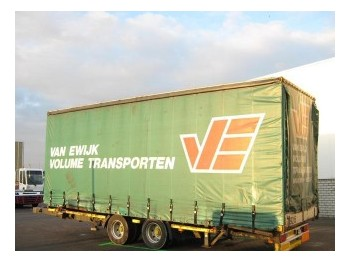 Tracon TM 18 - curtainsider trailer
