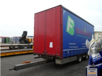 Tracon TM 20 - curtainsider trailer