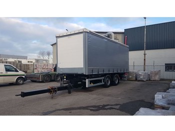Trouillet 2 AXLE CURTAIN SIDE - curtainsider trailer