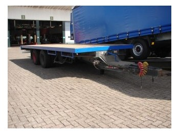 Burg OPEN 2-AS - dropside/ flatbed trailer