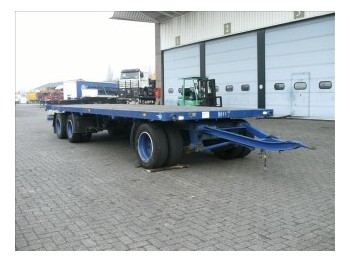 Burg OPEN 3-AS - dropside/ flatbed trailer