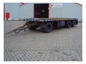 GS Meppel AI-2800 - dropside/ flatbed trailer
