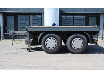Hilse BAL 18B Central Axle Ballast Trailer  - dropside/ flatbed trailer
