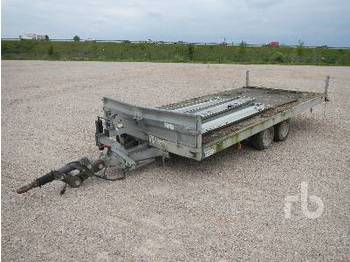 Hubiere CNT322TR T/A - dropside/ flatbed trailer