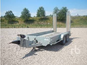 Hubiere TPR802-45 3.980 Ton T/A - dropside/ flatbed trailer