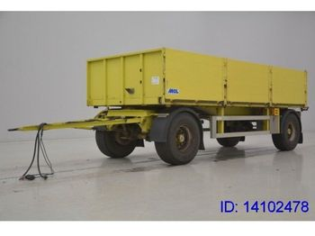 MOL Airride  - dropside/ flatbed trailer