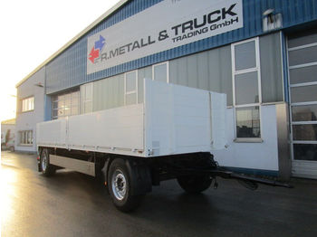 Meusburger PA 2 Baustoffpritsche MB Achsen  - dropside/ flatbed trailer