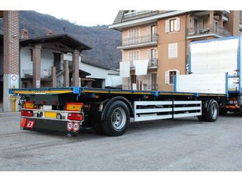 PIACENZA RIBALTABILE BILATERALE - dropside/ flatbed trailer