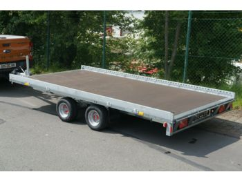 Stema Carrier XL Plattformanhänger Minibagger  - dropside/ flatbed trailer