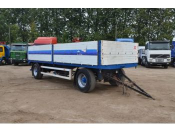WELLMEYER PA1871 - dropside/ flatbed trailer