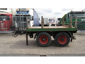 Hilse 2 AXLE COUNTERWEIGHT TRAILER - trailer