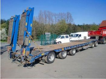 KRUKENMEIER TIEFLADER 50 T. / TPR 50 - low loader trailer