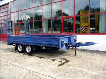 Obermaier Tandemtieflader - low loader trailer